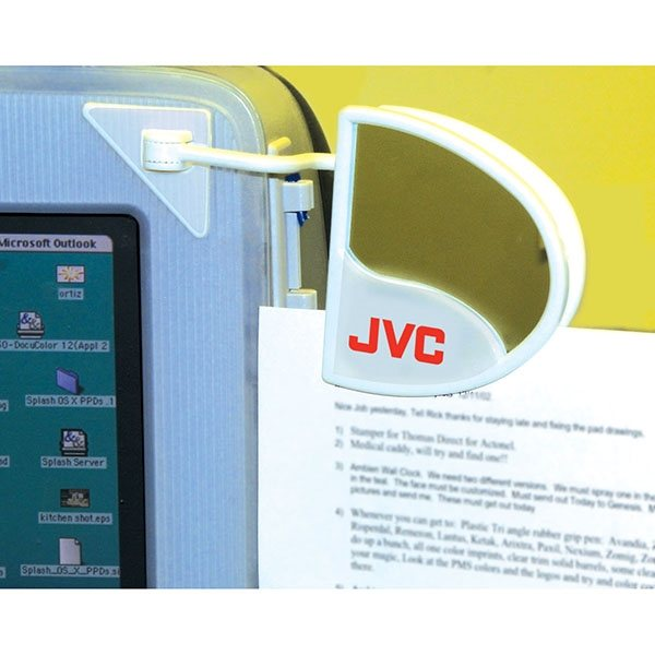 Promotional Computer Document Holder with Mirror