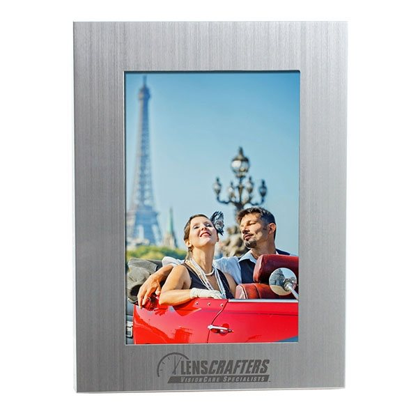 Promotional 4 x 6 Silver Photo Frame