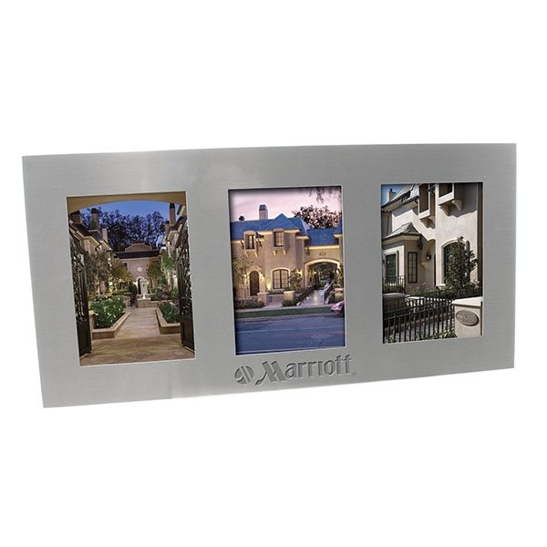 Promotional 3 1/2 x 5 Multi Picture Frame