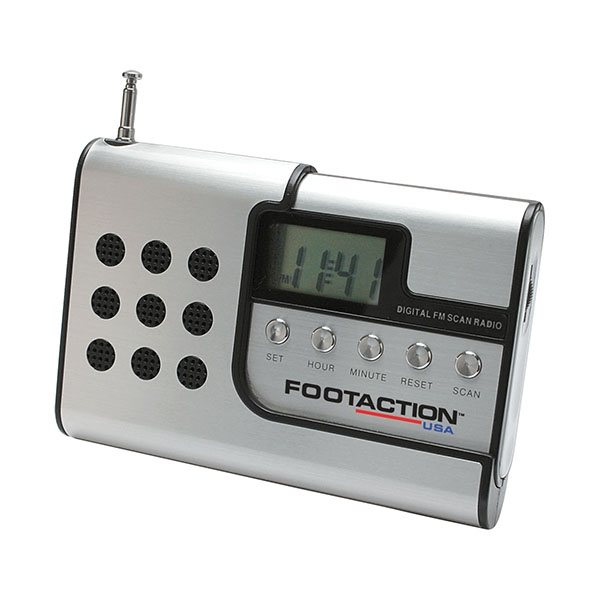Promotional Radio with Digital Clock