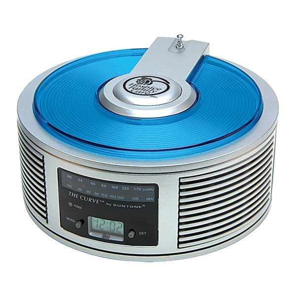 Promotional AM / FM Curve(TM) Alarm Clock Radio