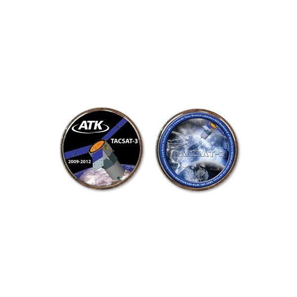 Promotional Challenge Coins - 1 1/2 Gold 1 1/2 Diameter