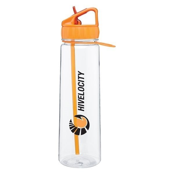Promotional 30 oz H2go Angle - Tangerine
