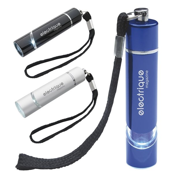 Promotional Aluminum Flashlight With Lantern