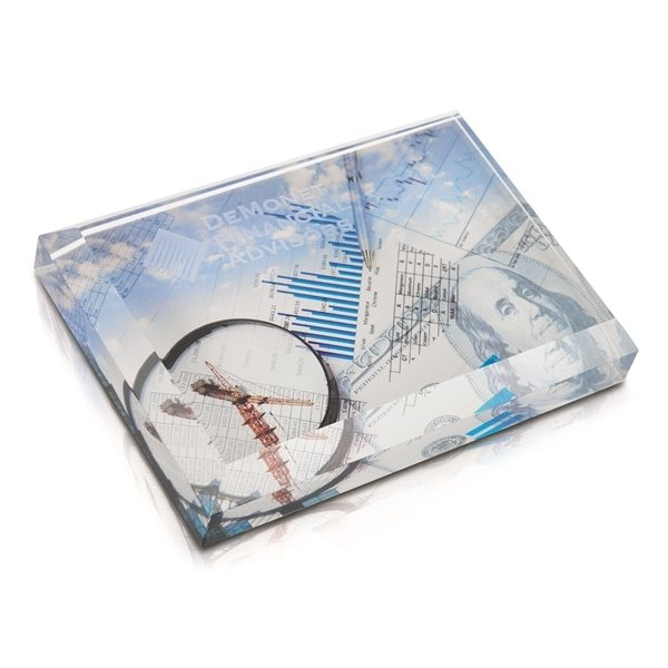 Promotional Business Card Paperweight