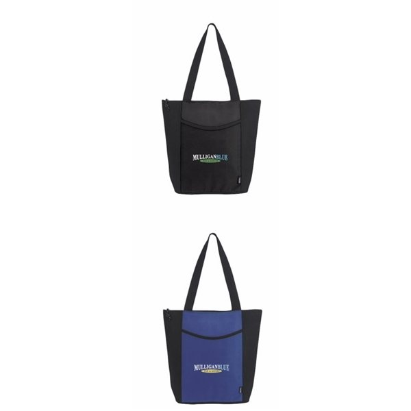 Promotional Non - Woven Polypropylene Koozie Linear Tote