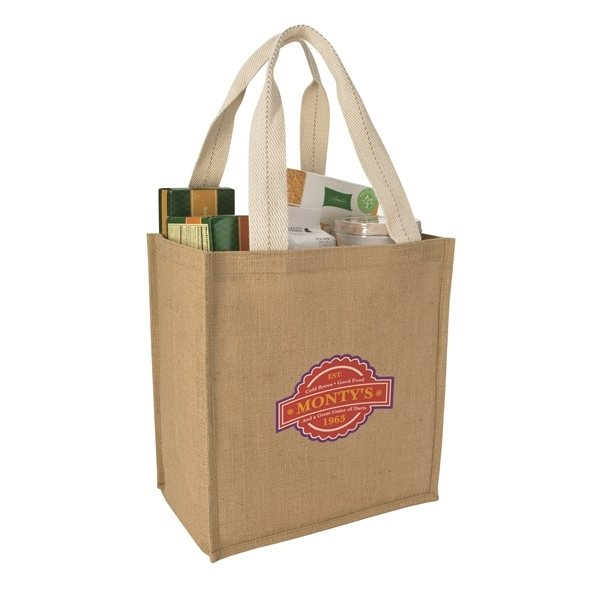Promotional Jute Grocery Tote