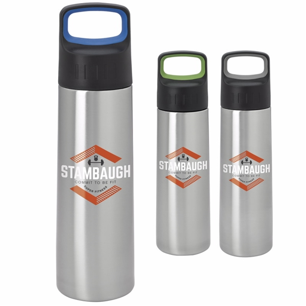 Promotional Modern Bottle with Large Handle - 26 oz