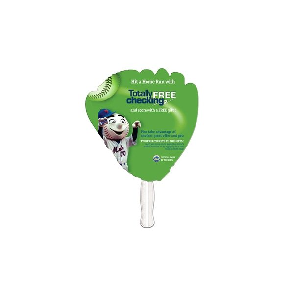 Promotional Glove Digital Auction Fan - Paper Products