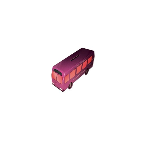 Promotional Mini Bus Bank - Paper Products