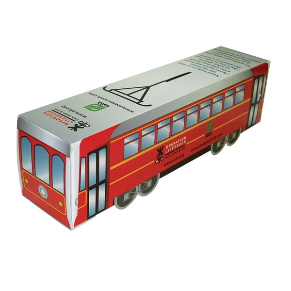 Promotional Train Bank - Paper Products