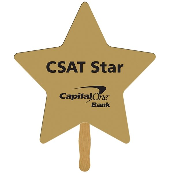 Promotional Star Rally Sign - Paper Products