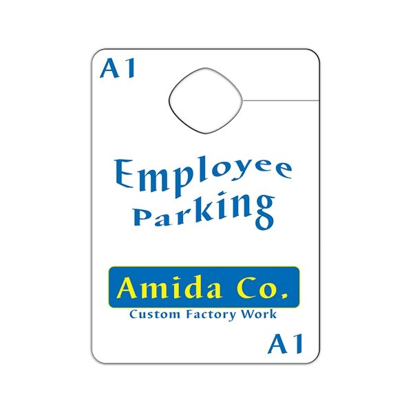 Promotional Paper Mirror Hanger - Paper Products