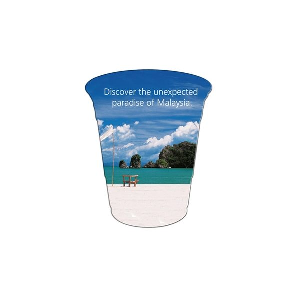 Promotional Cup Window Sign - Paper Products