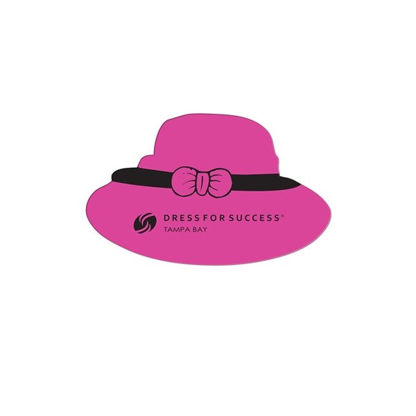 Promotional Dress Hat Window Sign - Paper Products