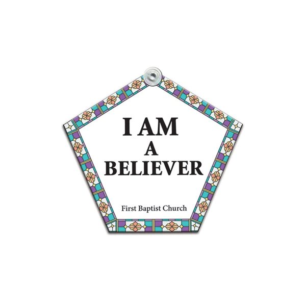 Promotional Church Window Sign - Paper Products