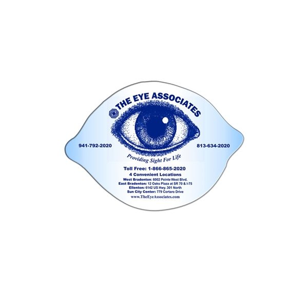 Promotional Lemon / Lime Window Sign - Paper Products