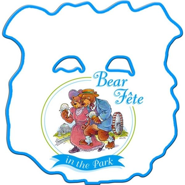 Promotional Bear Window Sign - Paper Products