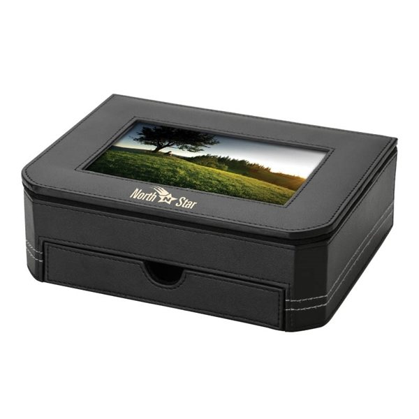 Promotional Pardo Photo Frame Desk Box