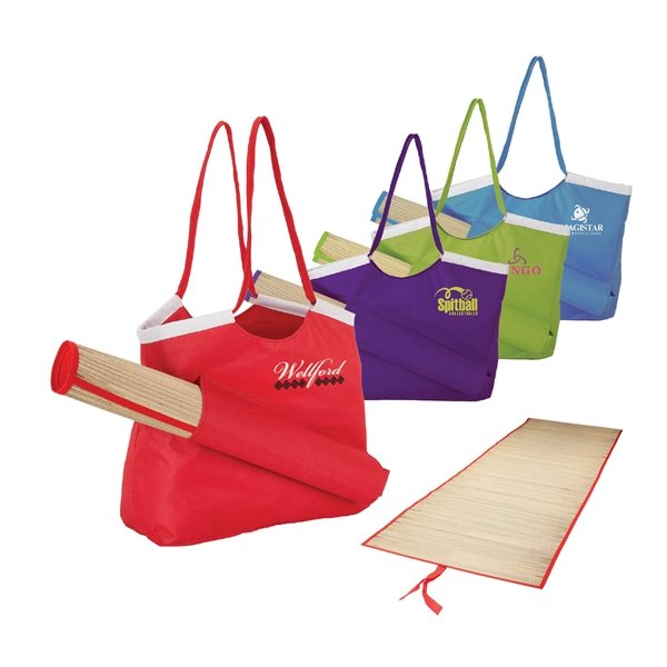 Promotional Sunshine Beach Tote Mat