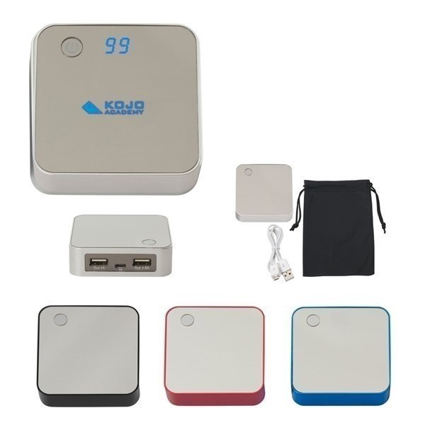 Promotional Portable Dual - Port Charger