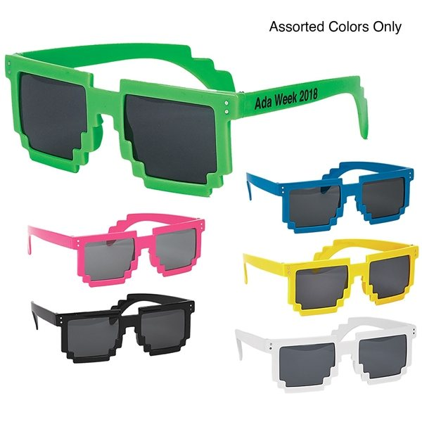 Promotional 100 UV Protected Robot Sunglasses