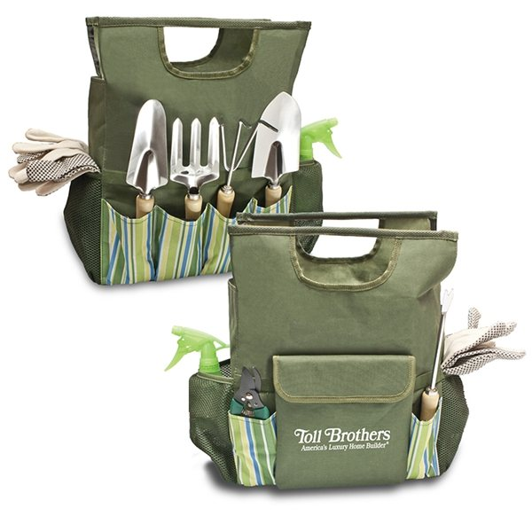 Promotional 10- Pc Garden Tool Tote