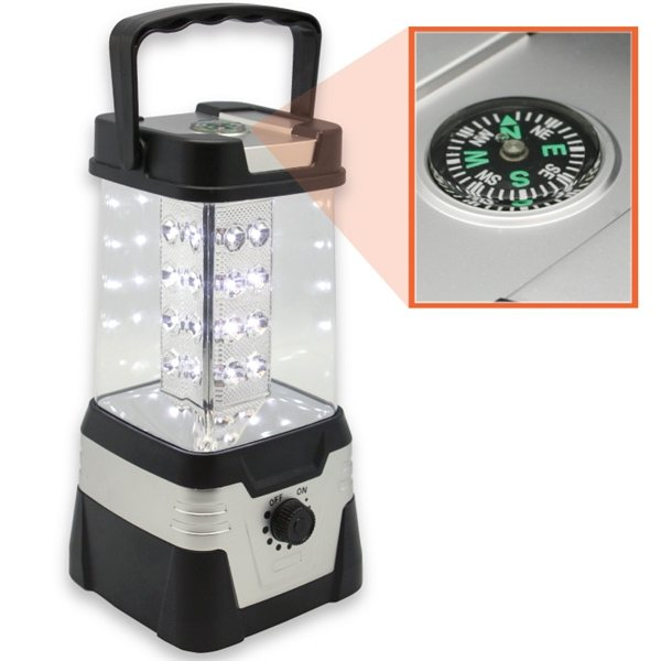 Promotional 32 LED Lantern with Compass
