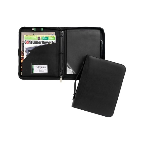 Promotional Conference Leatherette Ringfolio