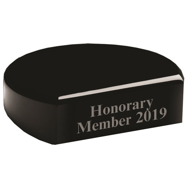 Promotional Black Semi - Round Base