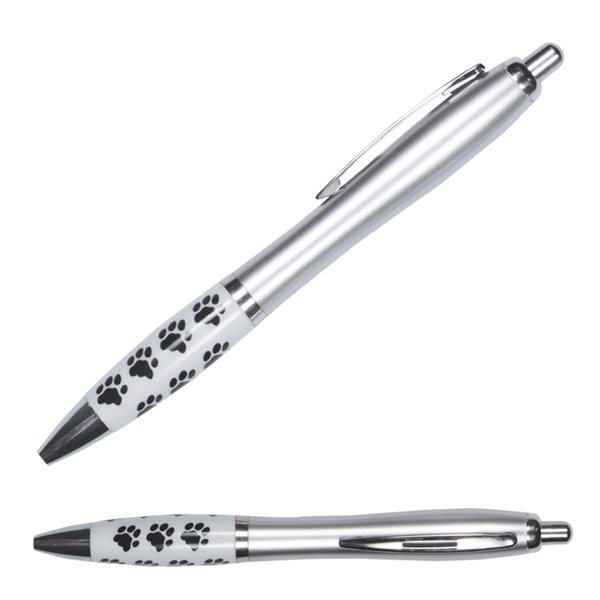 Promotional Emissary Click Pen - Paw Print