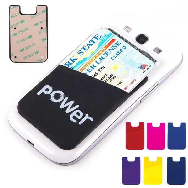 Promotional Silicone Smart Cell Phone Wallet