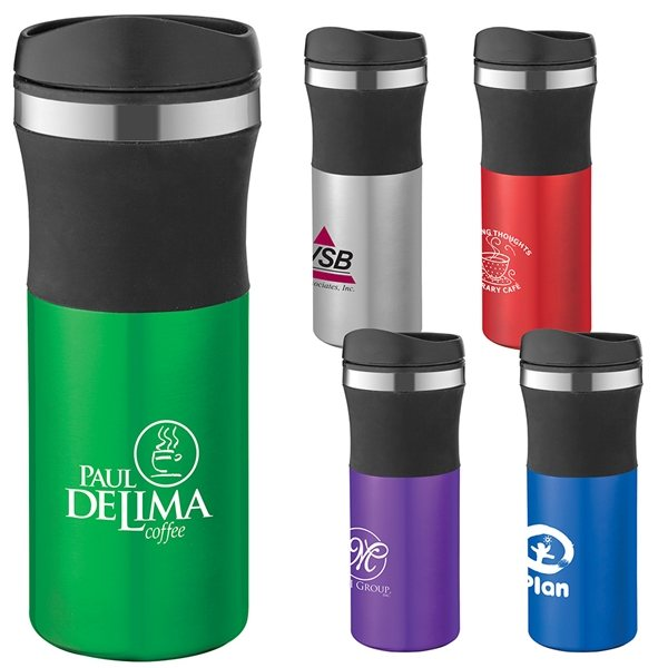Promotional Malmo 16 Oz Stainless Steel Travel Tumbler With Multiple Color Choices