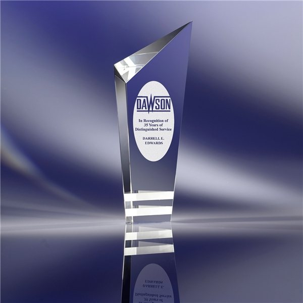 Promotional Optical Crystal Clearaward Torch