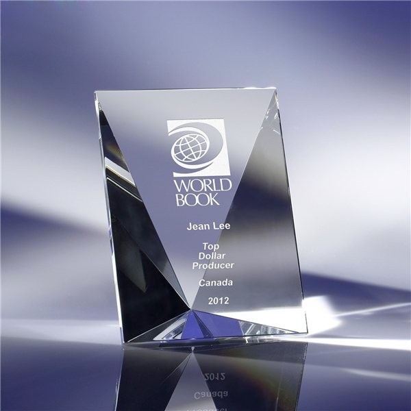 Promotional Clearaward Optical Crystal Stages 4x5
