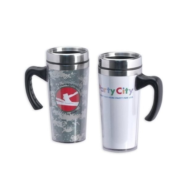 Promotional Digital Photo Travel Mug