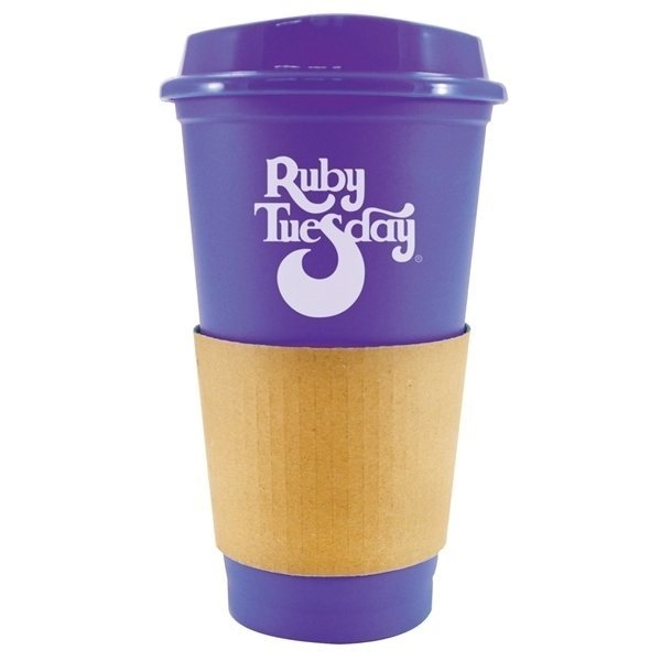 Promotional 16 oz Sip N Style Stackable Tumbler