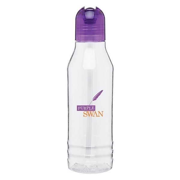 Promotional 20 oz H2go Flip - purple