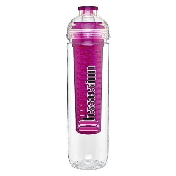 Promotional 27 oz H2go Fresh - fuchsia