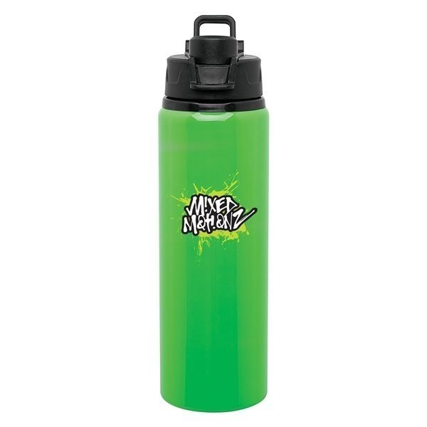 Promotional 28 oz H2go Surge - neon green