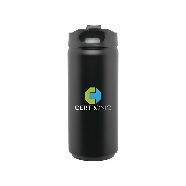 Promotional 12 oz SS Can - matte black