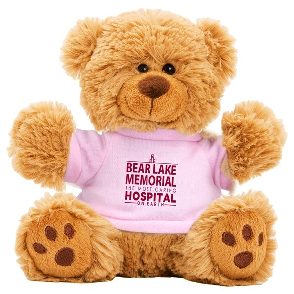 Promotional 6 Plush Teddy Bear with T - Shirt