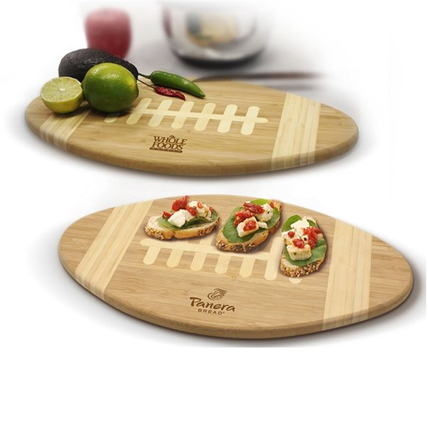 Promotional Football Cutting Board Serving Tray