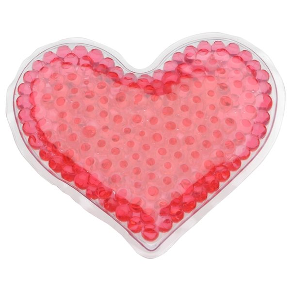 Promotional Heart Gel Hot / Cold Pack