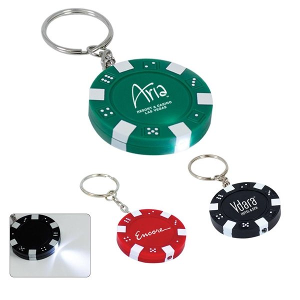Promotional Casino Chip Keylight