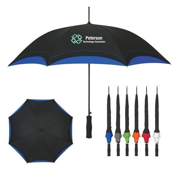 Promotional 46 Arc Accent Umbrella