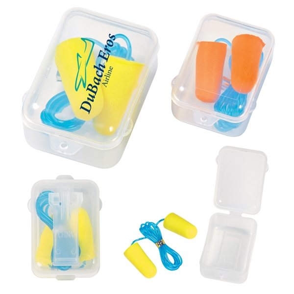 Promotional Foam Ear Plug Set In Case