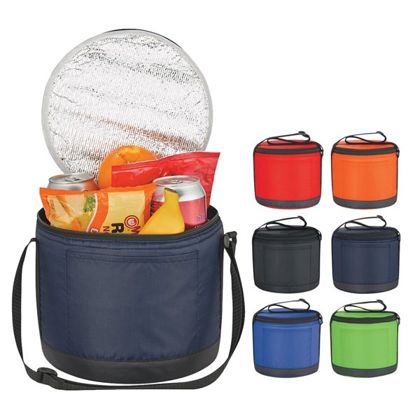 Promotional Cans - To - Go Round Cooler Bag