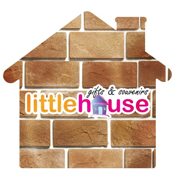 Promotional House Shaped Microfiber Cleaning Cloth