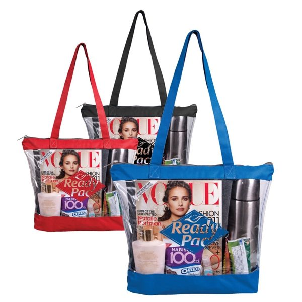 Promotional Barbados Clear Tote